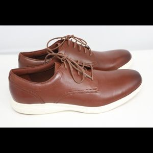 Cole Haan GrandOS Leather Woodbury Ivory Brown
